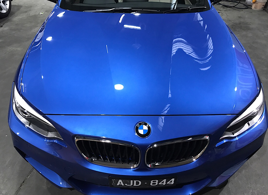 Bmw 228i Convertable New car paint protection ceramic pro 9H
