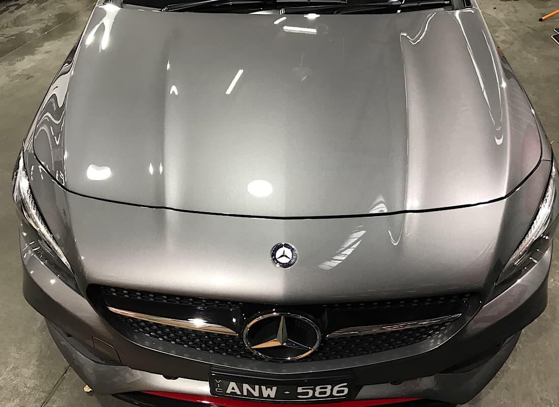 mercedes benz cla 250 new car paint protection ceramic pro 9h fine shine detailling. Black Bedroom Furniture Sets. Home Design Ideas