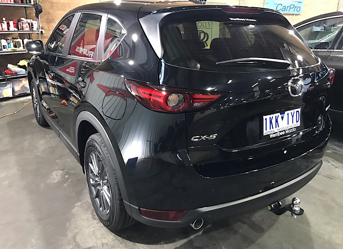 New Mazda CX-5 Single stage gloss enhancement and application of ceramic pro 9H paint protection